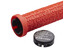 EASTON Lock-On - Grips - 33mm rouge